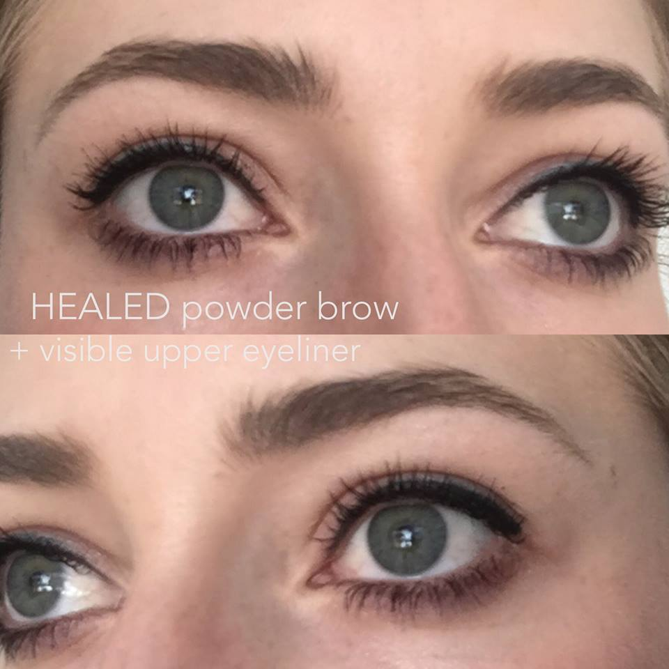 Permanent Makeup Eyebrows | Microblading/Ombre | Wake Up